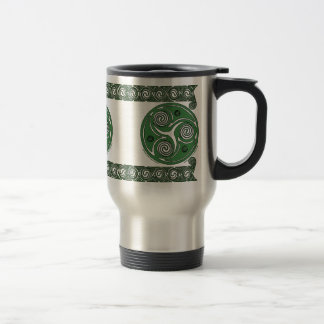 Irish Triskel Spiral Celtic Mugs
