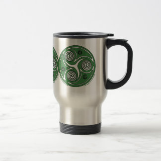 Irish Triskel Spiral Celtic Mugs #2