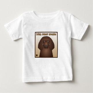 Irish Water Spaniel Cartoon Baby T-Shirt
