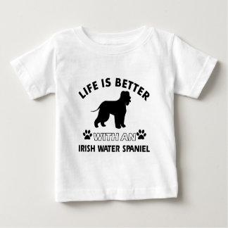 Irish Water Spaniel Dog breed Baby T-Shirt