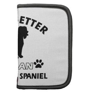 Irish Water Spaniel Dog breed Organizer