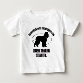 IRISH WATER SPANIEL DOG DESIGNS BABY T-Shirt