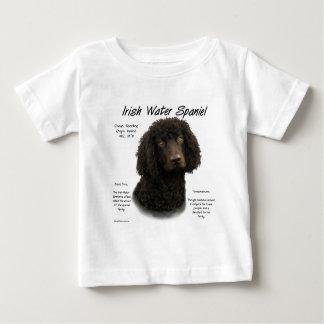 Irish Water Spaniel History Design Baby T-Shirt