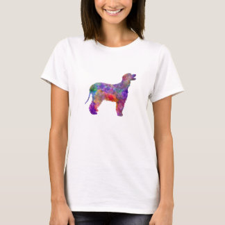 Irish Water Spaniel in watercolor 2 T-Shirt