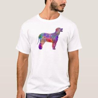 Irish Water Spaniel in watercolor 2 T-Shirt