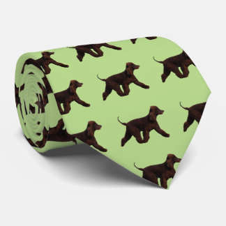 Irish Water Spaniel Neck Tie