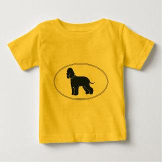 Irish Water Spaniel Silhouette Baby T-Shirt