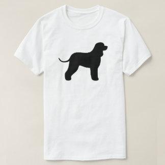 Irish Water Spaniel Silhouette T-Shirt