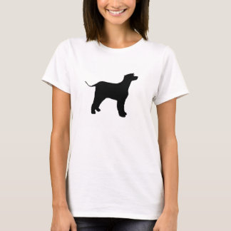 irish water spaniel silo black T-Shirt