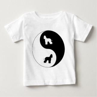 Irish Water Spaniel Yin Yang Baby T-Shirt