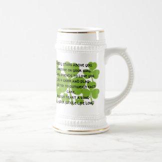 Irish  Wedding Blessing Stein