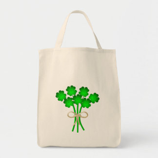 Irish Wedding Bouquet Tote Bag