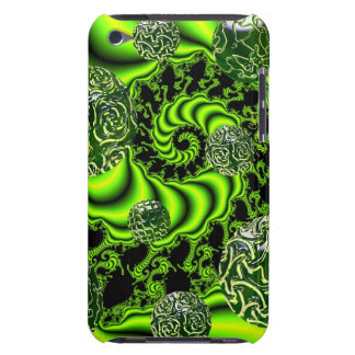 Irish Whirl - Abstract Emerald Dance iPod Touch Cover