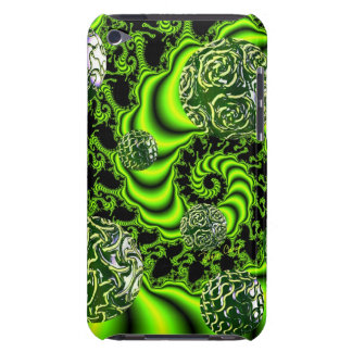 Irish Whirl - Abstract Emerald Dance iPod Case-Mate Cases