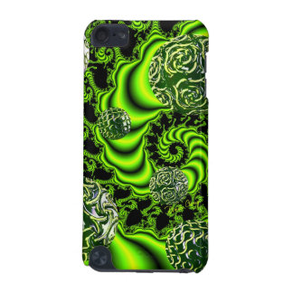 Irish Whirl, Abstract Emerald Green Dance iPod Touch (5th Generation) Case