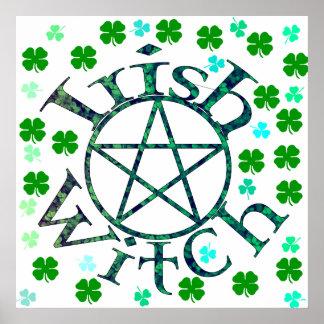 Irish Witch Posters
