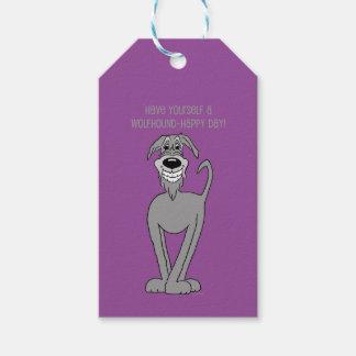 Irish wolf Smile Gift Tags