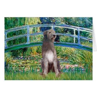 Irish Wolfhound 1 - Bridge Card
