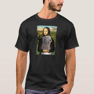 Irish Wolfhound 1 - Mona Lisa T-Shirt