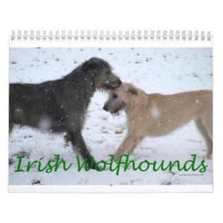 Irish Wolfhound 2012 Calendars