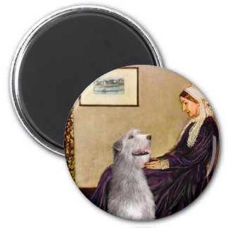 Irish Wolfhound 6 - Whistlers Mother Magnet