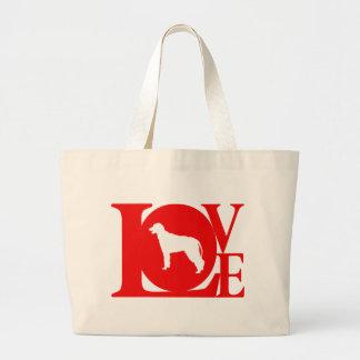 Irish Wolfhound Jumbo Tote Bag