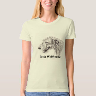 Irish Wolfhound Dog Art T-Shirt