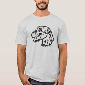 Irish Wolfhound Dog T-shirt Original Design
