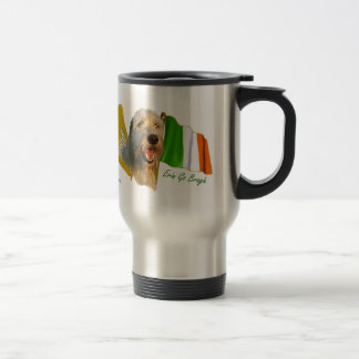 Irish Wolfhound Erin Go Bragh Travel Mug
