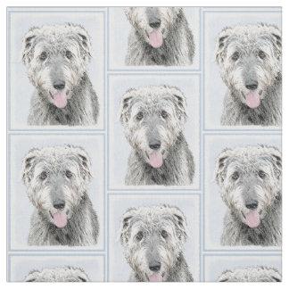 Irish Wolfhound Fabric