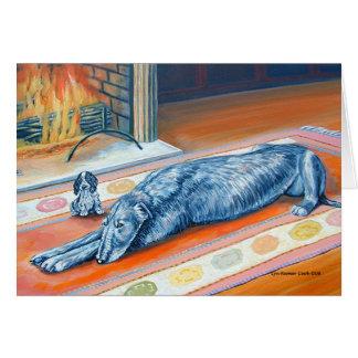 Irish Wolfhound Greeting Cards