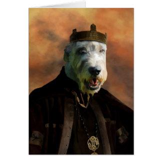 Irish Wolfhound Greeting Cards Nobility Dogs Gift