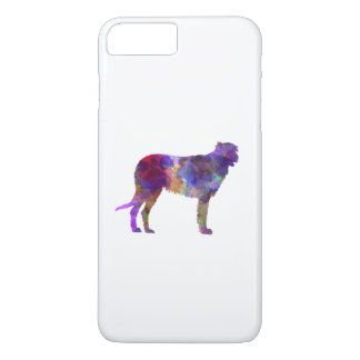Irish Wolfhound in watercolor iPhone 8 Plus/7 Plus Case