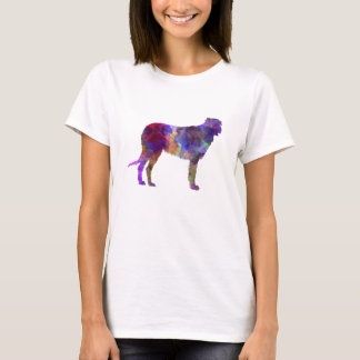 Irish Wolfhound in watercolor T-Shirt