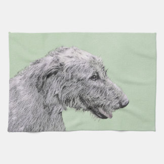 Irish Wolfhound Kitchen Towel