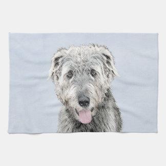 Irish Wolfhound Kitchen Towel