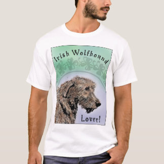 Irish Wolfhound Lover Apparel T-Shirt