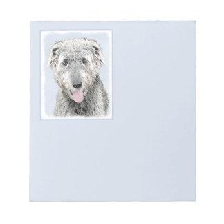 Irish Wolfhound Notepad
