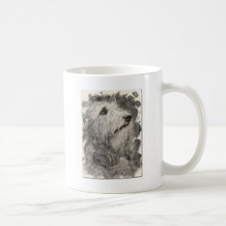 Irish Wolfhound perfect pose Coffee Mug