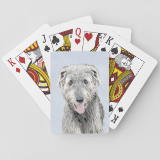 Irish Wolfhound Poker Deck
