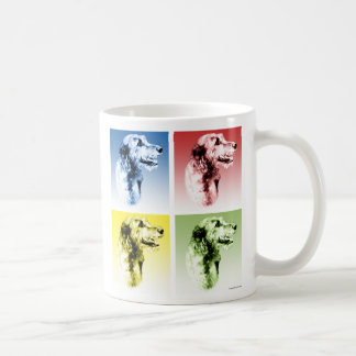 Irish Wolfhound Pop Coffee Mug