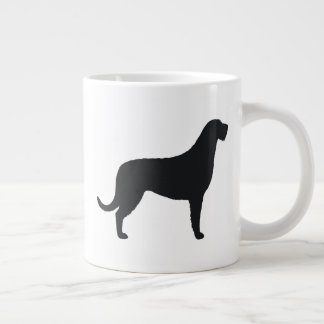 Irish Wolfhound Silhouettes Large Coffee Mug
