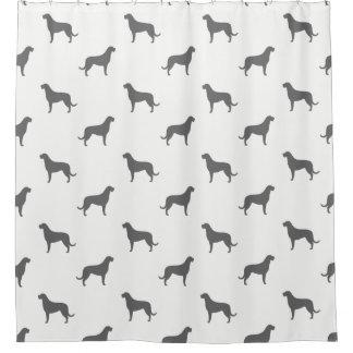 Irish Wolfhound Silhouettes Pattern