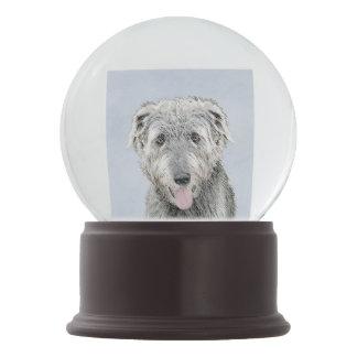 Irish Wolfhound Snow Globe