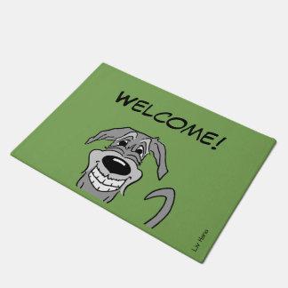 Irish Wolfhound Welcome Doormat