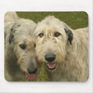 Irish Wolfhounds Mouse Pad