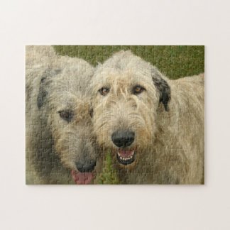 Irish Wolfhounds Photo Jigsaw Puzzle
