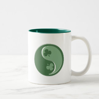 Irish YinYang Two-Tone Coffee Mug