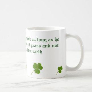 Irishman is Never Drunk Coffee Mug