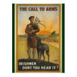 Irishmen: Don't You Hear It? Post Cards